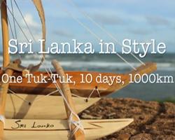 Sri Lanka Luxury Travel Experience by Tuk Tuk